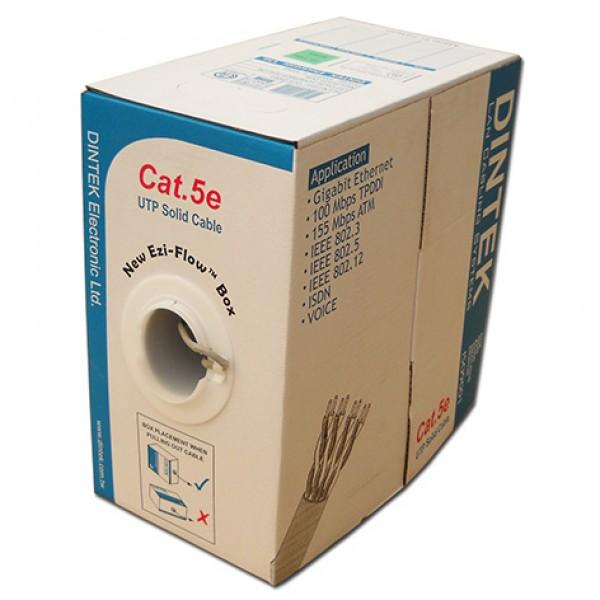 Cáp mạng Dintek CAT.5E UTP, 4 pair, 24AWG, 305m/thùng (1101-03003)