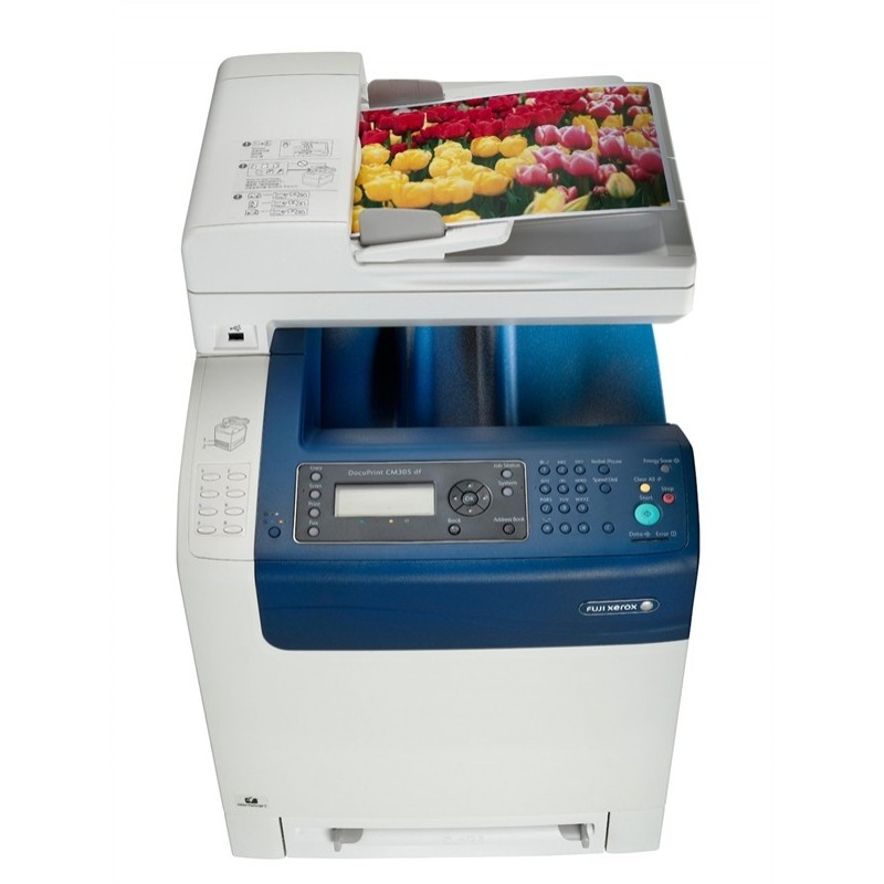 Máy in Xerox DocuPrint CM305df, In, Scan, Copy, Fax, Duplex, Laser màu
