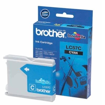 Mực in Brother LC 57 Cyan Ink Cartridge (LC 57C)