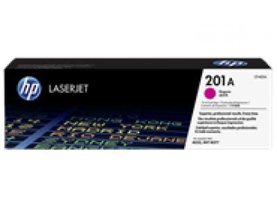 Mực in chính hãng Laser màu đỏ HP 201A Magenta Original LaserJet Toner Cartridge (CF403A)