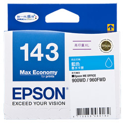 Mực in Epson 143 Cyan Ink Cartridge