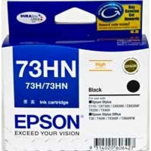 Mực in Epson 73HN Black High Capacity Cartridge - Single Pack (T104190)