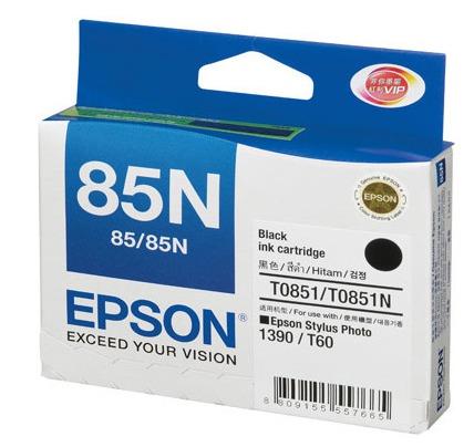 Mực in Epson 85N  Black Ink Cartridge (T122100)