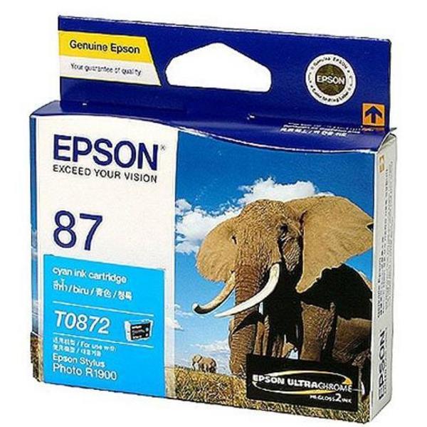 Mực in Epson 87 UltraChrome Hi-Gloss2 - Cyan Ink Cartridge