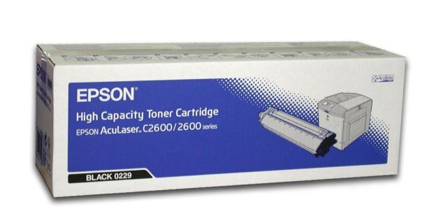 Mực in Epson S050229 Black Toner Cartridge (S050229)