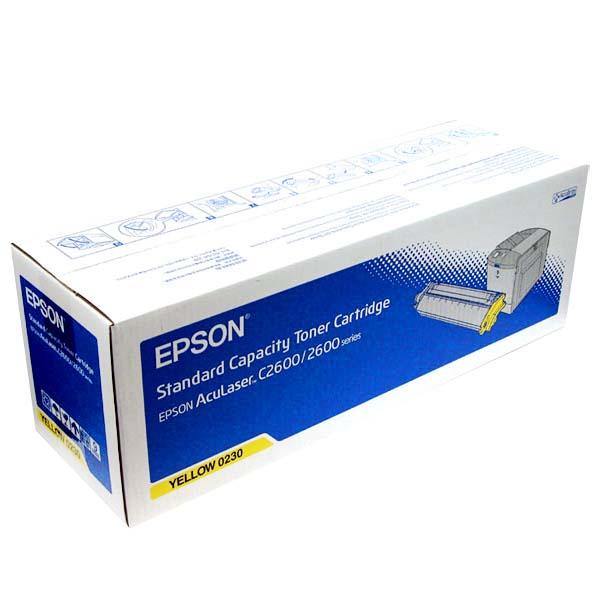 Mực in Epson S050230 Yellow Toner Cartridge (S050230)