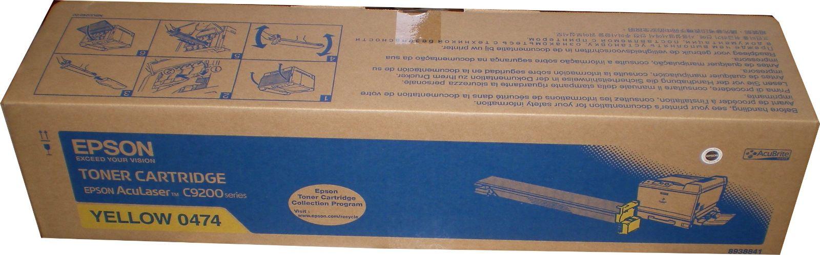 Mực in Epson S050474 Yellow Toner Cartridge (S050474)