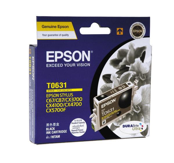 Mực in Epson T063190 Black Ink Cartridge (T063190)