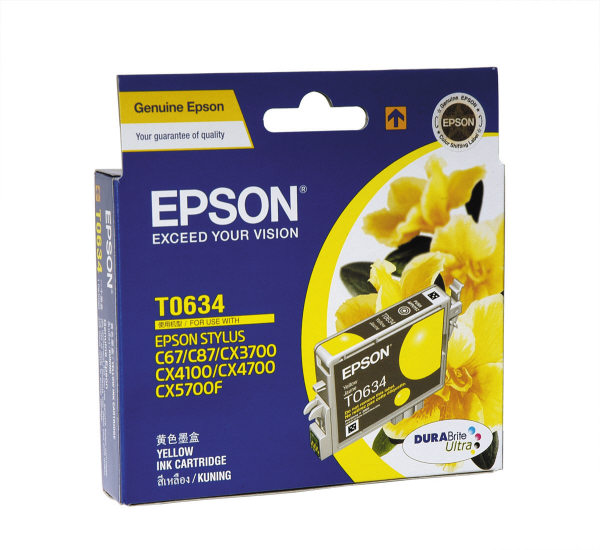 Mực in Epson T063490 Yellow Ink Cartridge (T063490)