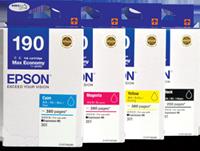 Mực in Epson T190 Cyan Ink Cartridge