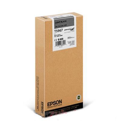 Mực in Epson T596700 Light Black Ink Cartridge (T596700)
