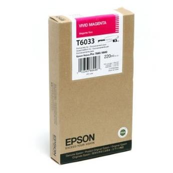 Mực in Epson T6033 Vivid Magenta Cartridge (220ml) (C13T603300)