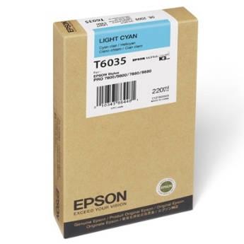 Mực in Epson T6035 Hộp mực Xanh nhạt (220ml) (C13T603500)