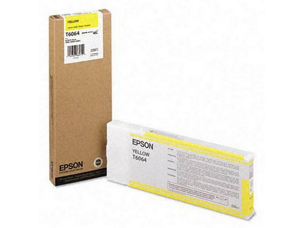 Mực in Epson T6064 Yellow Ink Cartridge