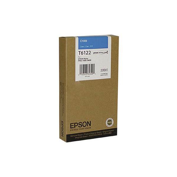 Mực in Epson T612200 Cyan Ink Cartridge