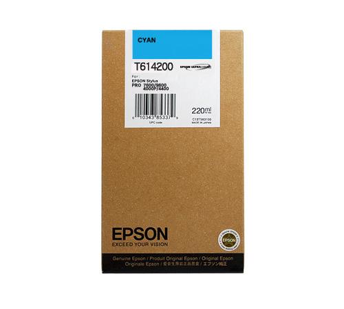 Mực in Epson T614200 Cyan Ink Cartridge (T614200)