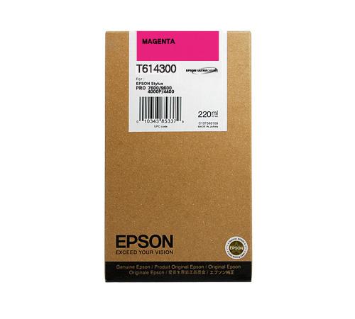 Mực in Epson T614300 Magenta Ink Cartridge (T614300)