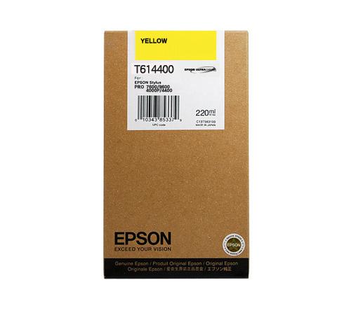Mực in Epson T614400 Yellow Ink Cartridge (T614400)