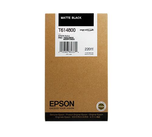 Mực in Epson T614800 Matte Black Ink Cartridge (T614800)