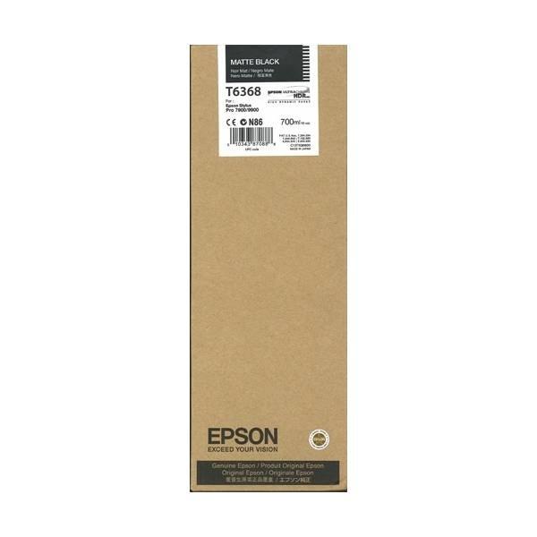 Mực in Epson T6368 Matte Black Ink Cartridge (C13T636800)