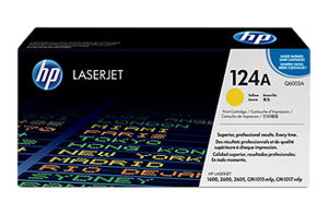 Mực in HP 124A Yellow LaserJet Toner Cartridge (Q6002A)