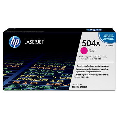 Mực in HP 504A Magenta LaserJet Toner Cartridge (CE253A)