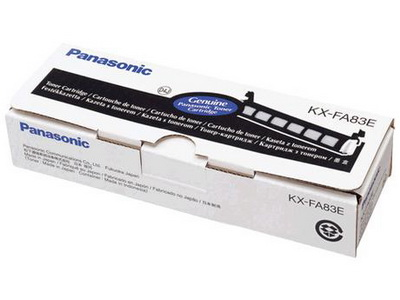 Mực in Panasonic KX FA83, Black Toner Cartridge