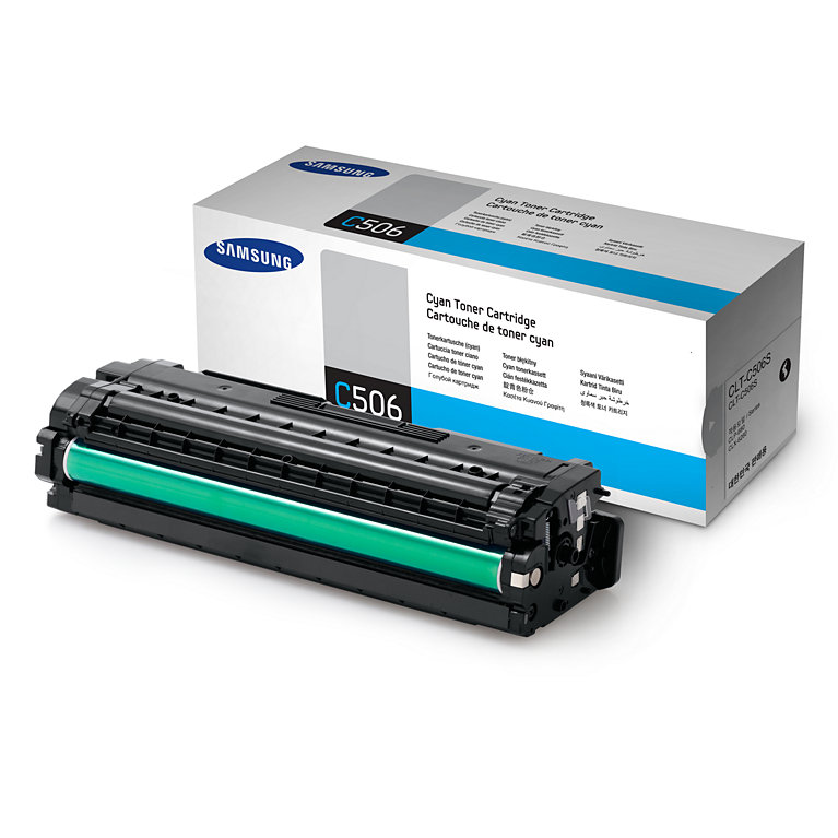 Mực in Samsung CLT-C506S Cyan Toner (1,500 pages)