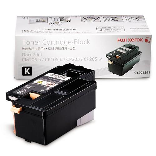 Mực in Xerox DocuPrint CP105 b, Black Toner Cartridge (CT201591)