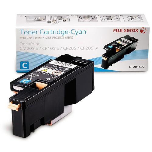 Mực in Xerox DocuPrint CP205, Cyan Toner Cartridge (CT201592)