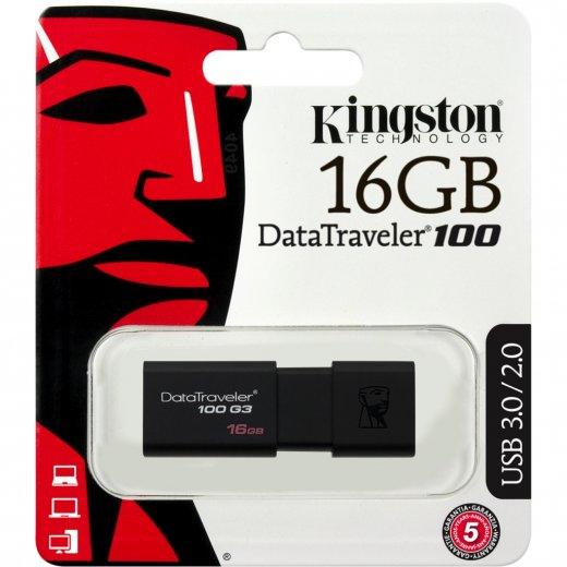 USB 16GB Kington DataTraveler 100 G3 (DT100G3/16GB)